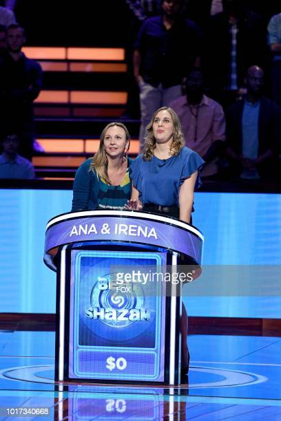 Contestants Ana and Irena in the allnew 'Episode Eight' episode of BEAT SHAZAM airing Tuesday July 31 on FOX