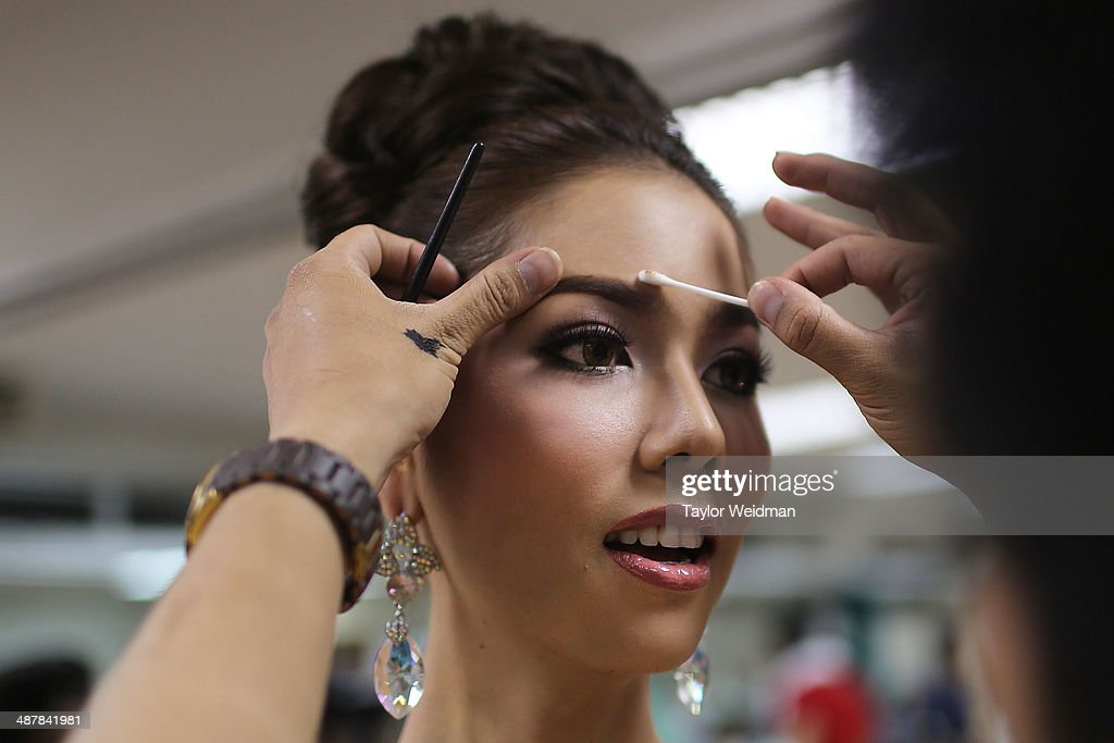 Transgender Women Compete In Miss Tiffany's Universe Beauty Pageant : News Photo