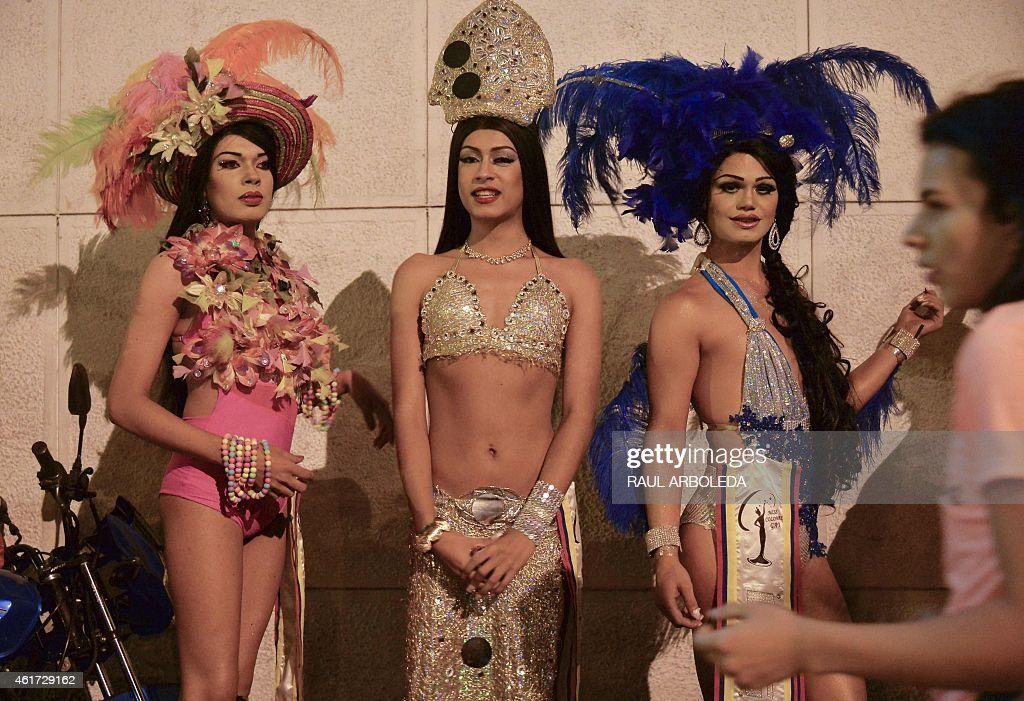 COLOMBIA-MISS GAY : News Photo