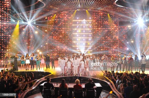 Contestants CeCe Frey Paige Thomas Fifth Harmony Vino Alan Carly Rose Sonenclar The Bancroft Middle School Choir Tate Stevens Beatrice Miller Emblem3...