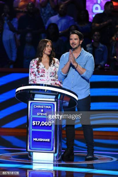 Contestants Christina and Steve in BEAT SHAZAM airing Thursday, June 22 on FOX.