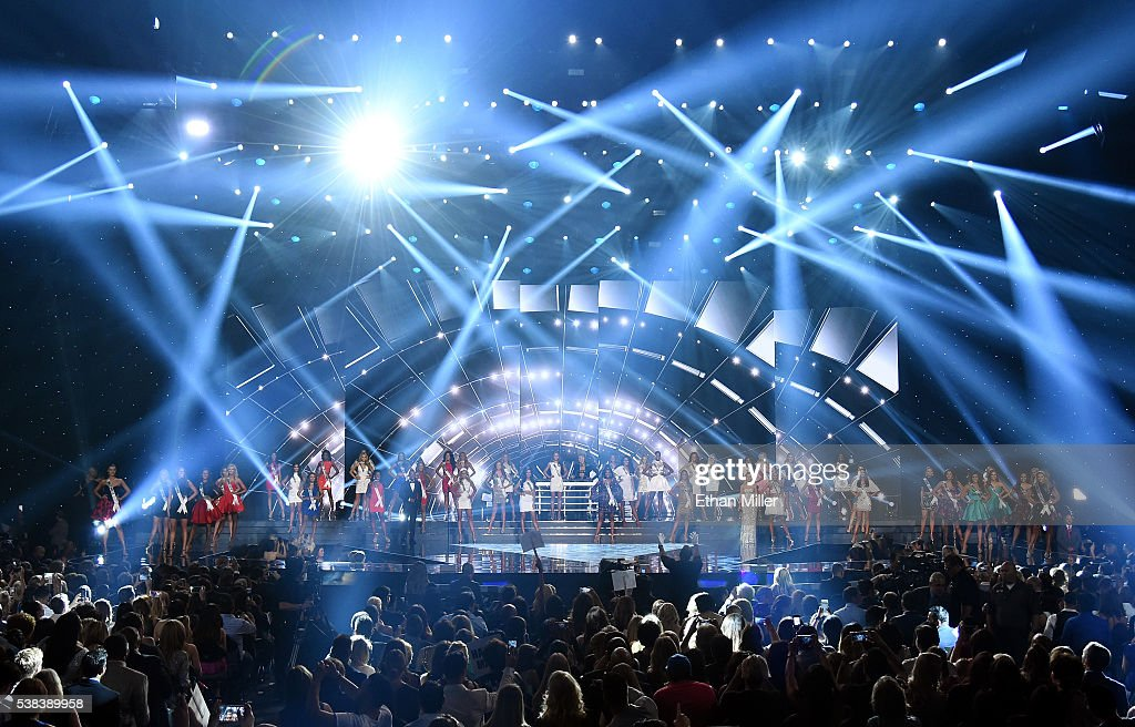 2016 Miss USA Competition - Show : News Photo