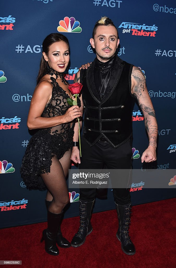 Contestants Deadly Games attend the 'America's Got Talent' Season 11 Live Show at The Dolby Theatre on August 30, 2016 in Hollywood, California.