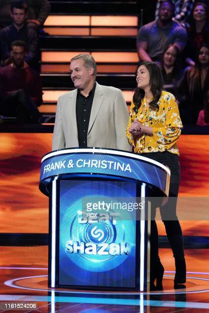 Contestants Frank and Christina in the #Daddydaughtertime Fathers Day episode of BEAT SHAZAM airing Monday June 17 on FOX