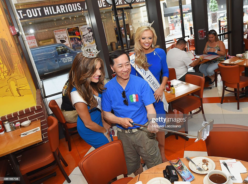 Miss America Takes Over New York City On Road To 95th Anniversary Of The Miss America Competition Sunday, September 13th On ABC At 9pm : Fotografía de noticias