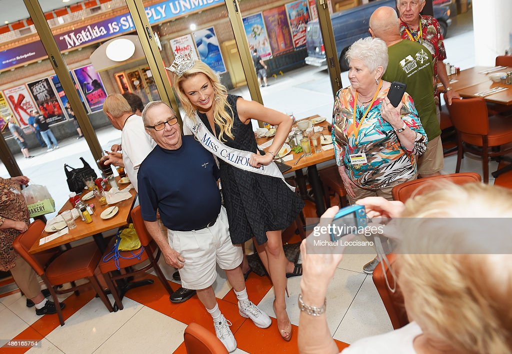Miss America Takes Over New York City On Road To 95th Anniversary Of The Miss America Competition Sunday, September 13th On ABC At 9pm : News Photo