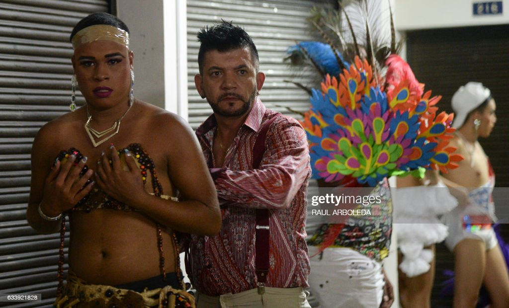 Contestants Get Ready To Compete In The First Miss Universe Gay 2017 Pageant In Medellin