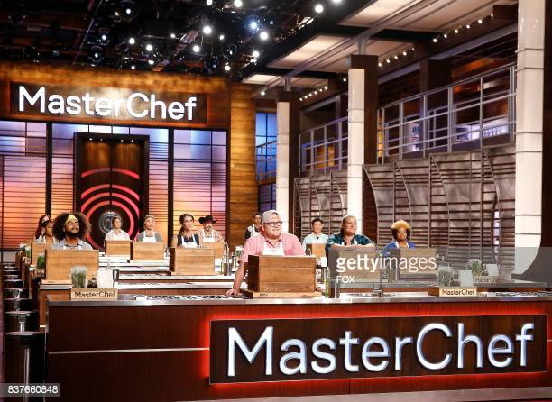 Contestants in the episode of MASTERCHEF airing Wednesday Aug 9 on FOX