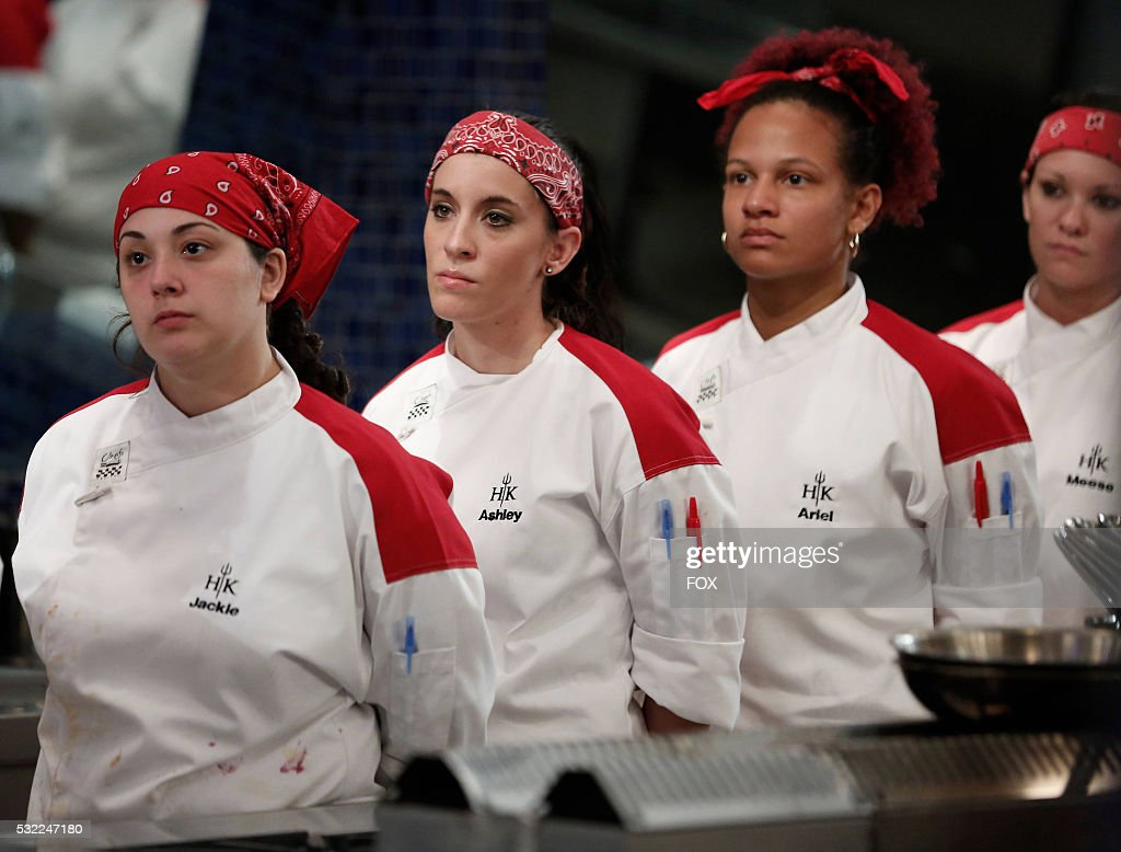 Contestants Jackie Ashley Ariel And Meese In The 17 Chefs