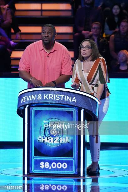 Contestants Kevin and Kristina in the Beauty and the Beats episode of BEAT SHAZAM airing Monday June 3 on FOX