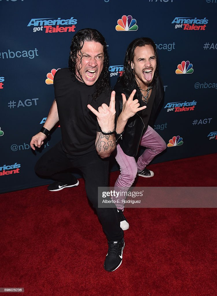 Contestants Malevo attend the 'America's Got Talent' Season 11 Live Show at The Dolby Theatre on August 30, 2016 in Hollywood, California.