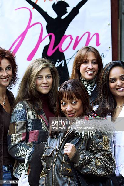 Contestants wait outside Shetler Studios on Eighth Ave to audition for the new reality television program Hottest Mom in America