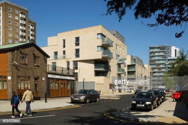 Contextual view of housing scheme Hicks Bolton Bond Housing Scheme London United Kingdom Architect Rick Mather Architects 2015