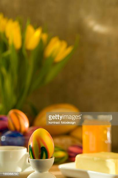 Continental Breakfast during easter time
