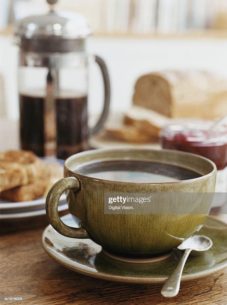 Continental Breakfast : Stock Photo