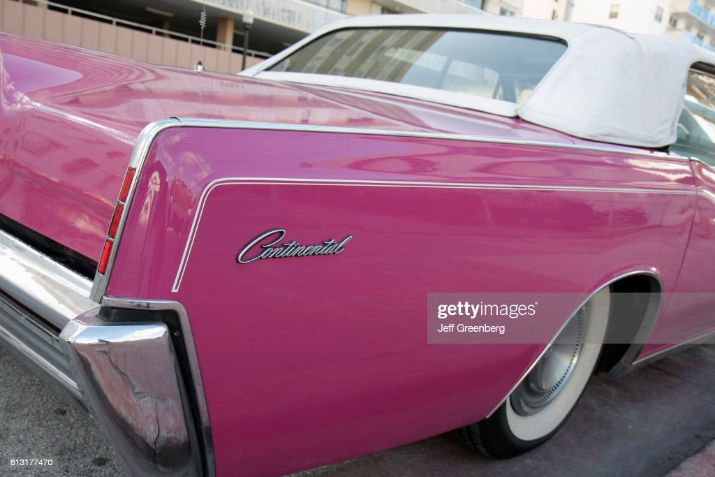 a continental car on ocean drive