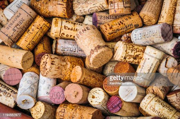 continental corks - cork stopper stock pictures, royalty-free photos & images