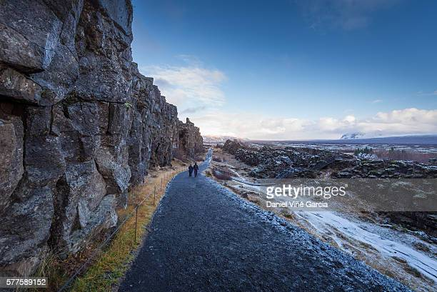 Continental Divide at Thingvellir