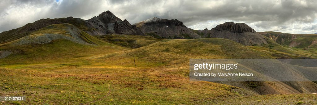 Continental Divide Trail Panorama : Stock Photo