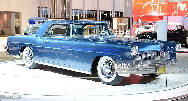 Continental Mark II appears as part of Lincoln's Heritage On Display At Los Angeles Auto Show Press Day at Los Angeles Convention Center on November...