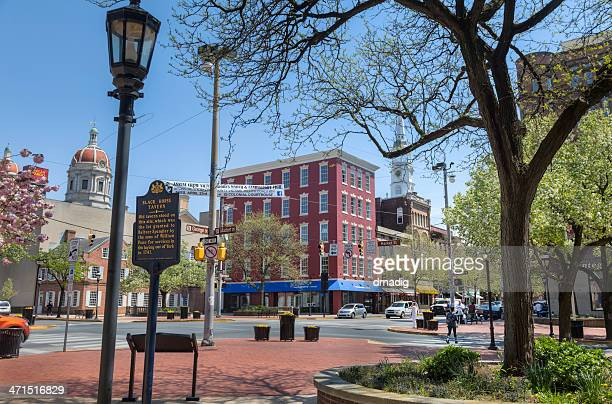 continental square, york, pennsylvania - pennsylvania stock pictures, royalty-free photos & images