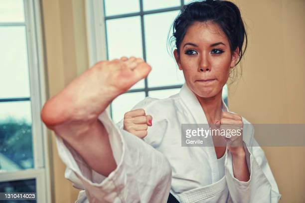 continued martial arts training - gerville stock pictures, royalty-free photos & images