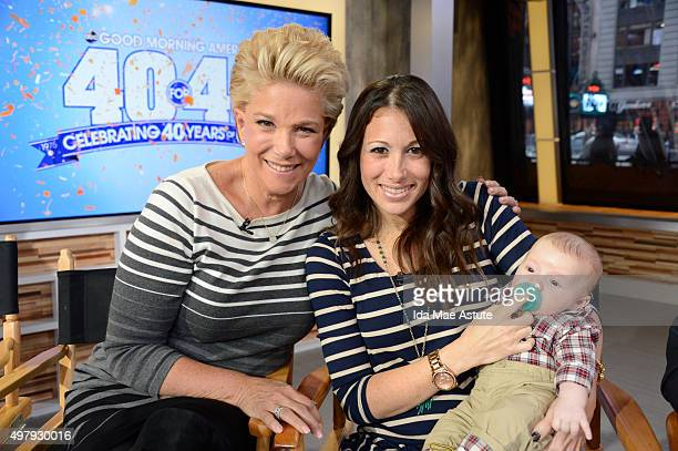 AMERICA 11/18/15 GMA continues its 40 for 40 Marathon a 40hour continuous broadcast across all Walt Disney Television via Getty Images News platforms...