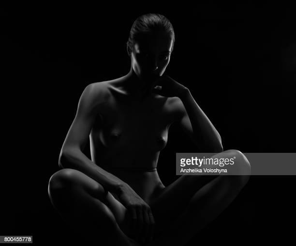 Périmètre de rayonnement d'un corps de femme nue