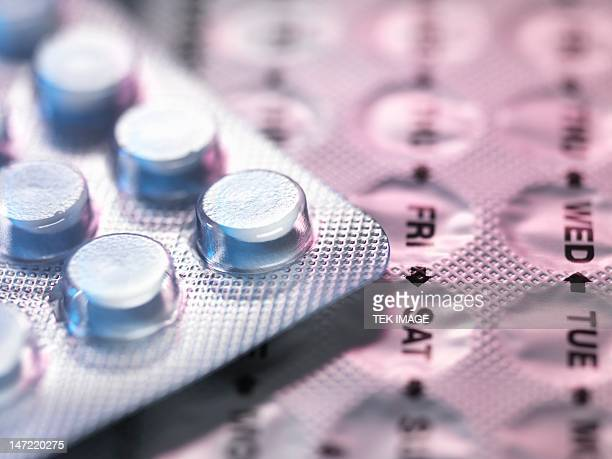 contraceptive pills - birth control pill stock pictures, royalty-free photos & images