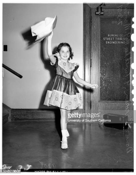 Contract July 3 1951 Donna Corcoran 9 years