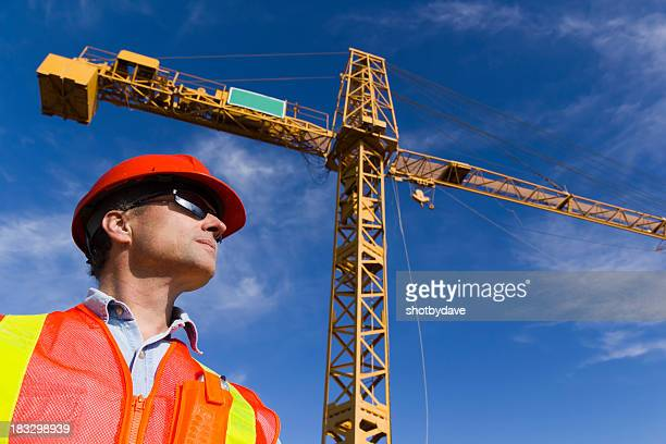 Contractor and Crane