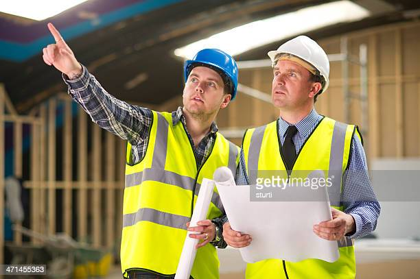 contractor chit chat - sturti stock pictures, royalty-free photos & images