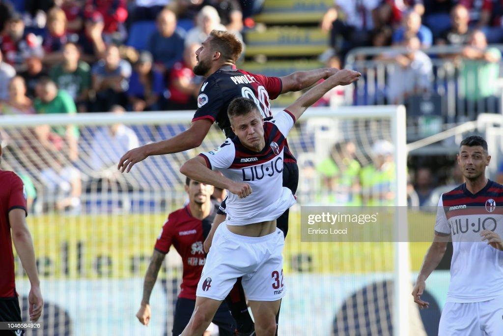 Cagliari v Bologna FC - Serie A : News Photo