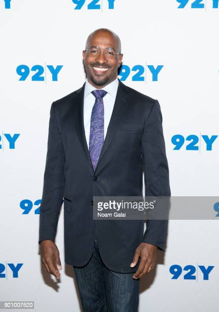 CNN contributor and host of The Van Jones Show Van Jones attends 'Notes From The Field Anna Deavere Smith in Conversation with Valerie Jarrett and...