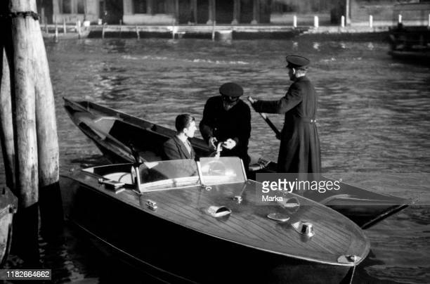 Control activities of the police venice 1940