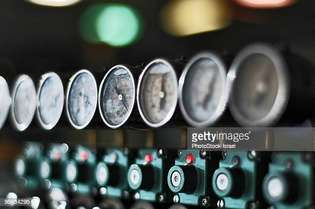 Control dials and meters