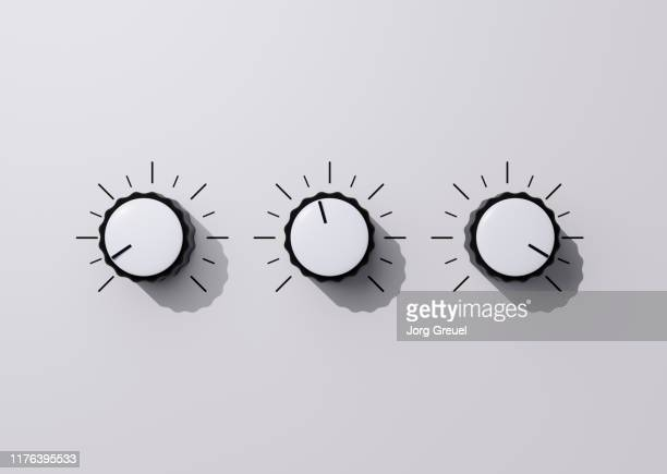 control knobs - dial stock pictures, royalty-free photos & images