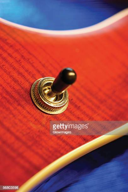 control on electric guitar, close-up - modern rock stock pictures, royalty-free photos & images