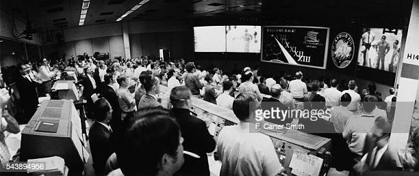 Control Room During the Return of Apollo 13
