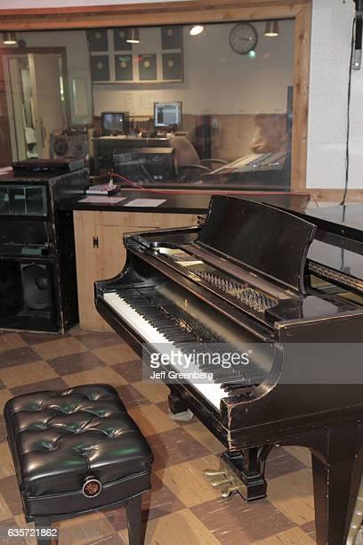 Control room Historic RCA Studio B tour
