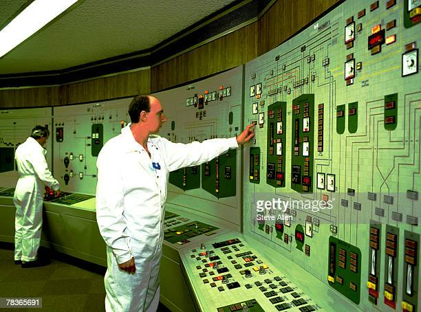 Control room in nuclear power plant