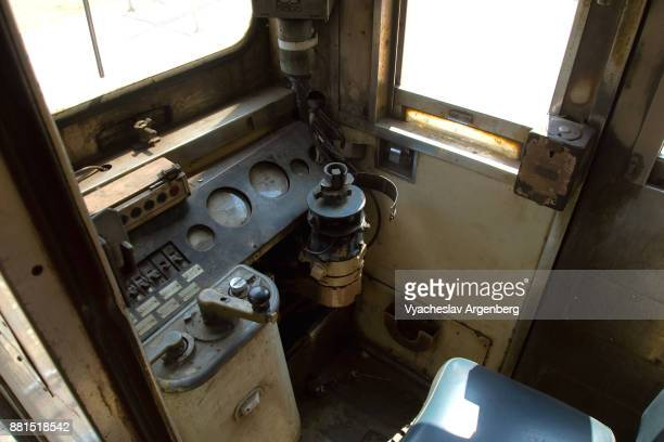 control room of burma railway train - argenberg stock pictures, royalty-free photos & images
