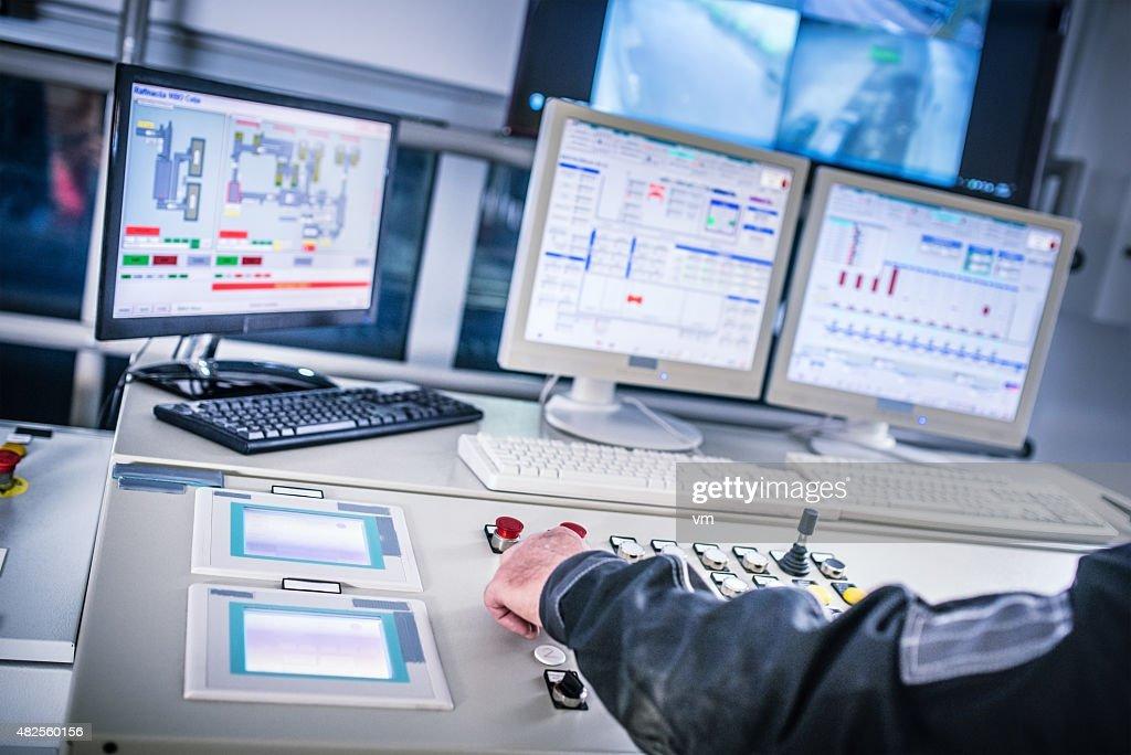 Control room : Stock Photo