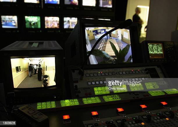 """Control room with numerous monitors are set up for the new reality-based show """"Big Brother"""" debuting on CBS July 5, 2000. """"Big Brother"""" features ten..."""