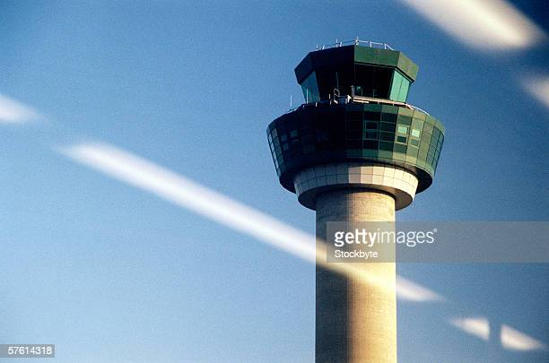 Control tower at an airport