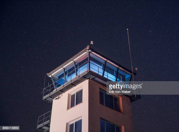 Control tower at small regional Spanish airport