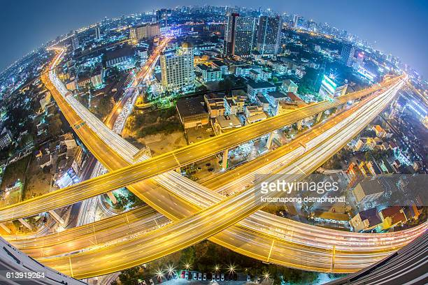 controlled-access highway, City scapes in bangkok.