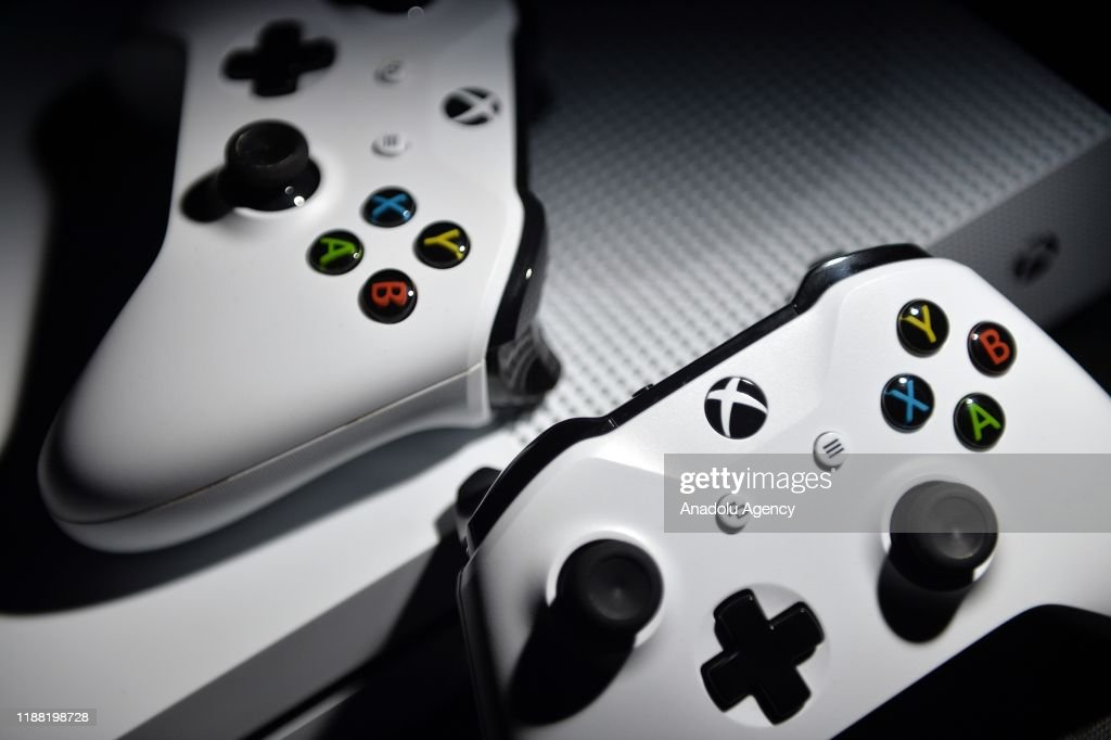 XBOX Gaming Console : News Photo