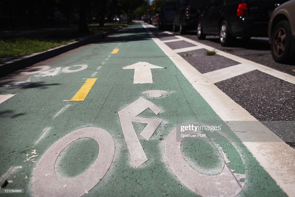 Judge Rules That Contested Brooklyn Bike Lane Can Stay : News Photo