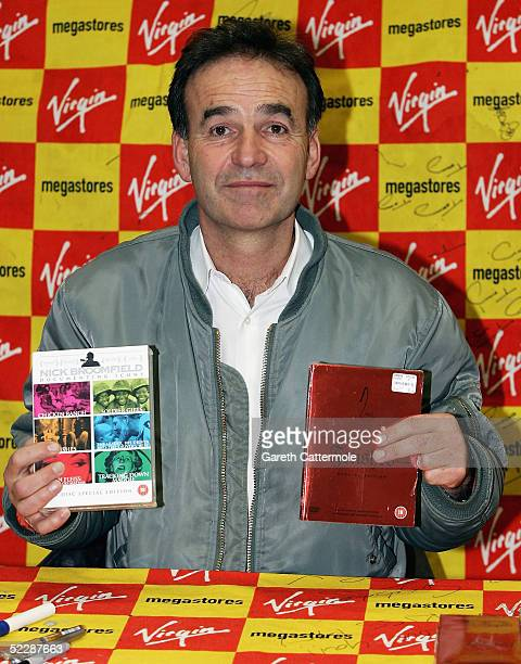 Controversial British filmmaker Nick Broomfield attends a signing session for The Nick Broomfield DVD Box Set out today at Virgin Megastore Oxford...